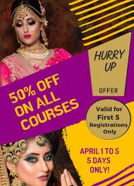 makeup artist course in gurgaon top