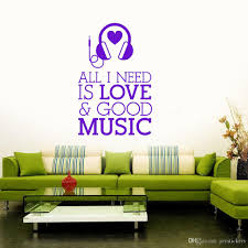 Music Headphones Pattern Art Decals Musical Room Decoration Wall Decal Vinyl Sticker For Children Bedroom Kids Gift Wall Decal Cheap Wall Decal Deals From Joystickers 12 66 Dhgate Com