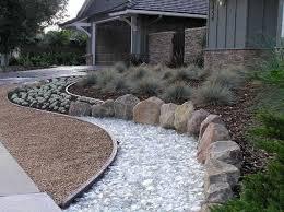 ideas recycled glass mulch river garden