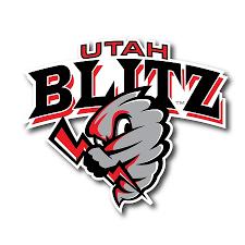 Utah Blitz Football Official Logo 6 Inch Car Decal Ub108
