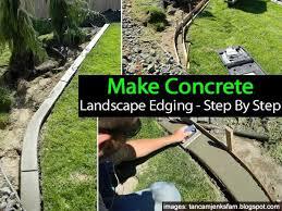 diy garden edging molds kit 30