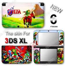 Amazon Com Zelda Ocarina Of Time Skin Vinyl Sticker Decal Cover For Original Nintendo 3ds Xl Video Games