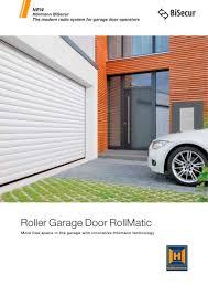 rollmatic roller garage door hörmann