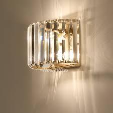 crystal wall lamp art deco modern