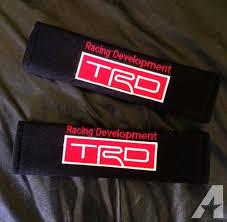 toyota trd seat belt shoulder pads