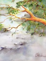 Watercolour, Arbutus Tree, Coastal, British Columbia, Madrona, Perry  Johnston, Quadra Island | Watercolor landscape, Watercolor, Landscape  paintings