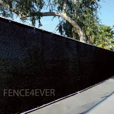 6 X50 Black Fence Privacy Screen Windscreen Cover Shade Cloth Mesh Fabric Brass Grommets Moowqpoaspdoaps