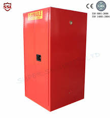 storage cabinet for flammable liquids