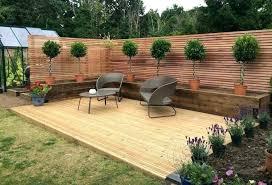 ideas for decking in the garden