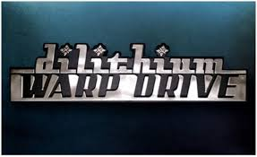Dilithium Warp Drive Star Trek Car Emblem Chrome Plastic Not A Decal Sticker Sports Outdoors Amazon Canada