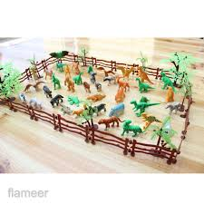 Flameer 68pcs Simulation Farm Zoo Animal Model Figure Toy Figurine Collectibles Shopee Philippines