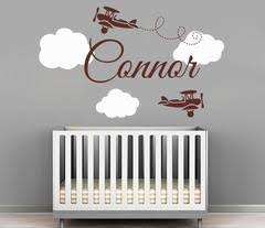 Airplanes Name Wall Decal Art Decor For Nursery Rooms Lovely Decals World