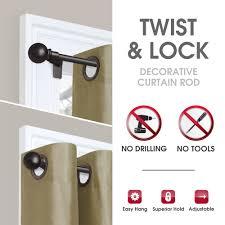 lock no drill adjule tension rod