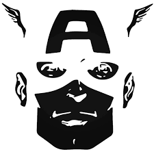 Captain America Vinyl Decal Sticker