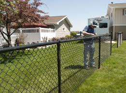 Vinyl Coated Fence Panels For Best Chain Link Fencing Solutions