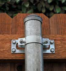 Ozco Wood Metal Fence Brackets Lee Valley Tools