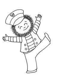 Kapitein Winokio Stelt Voor Kleine Kapitein Kapitein Winokio