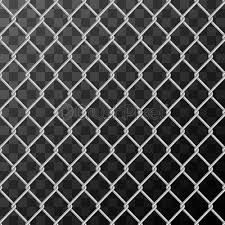 Realistic Glossy Metal Chain Link Fence Seamless Pattern On Transparent Stock Vector Crushpixel
