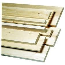 White Pine Board S4s 5 4 In X 6 In X 6 Ft Natural 590101606 Rona