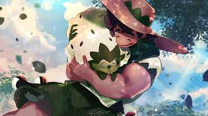 Milo and Eldergoss from Pokemon Sword and Shield Anime Wallpaper ...