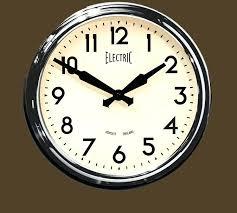 wall clocks retro large next clock