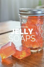 homemade jelly soaps mad in crafts