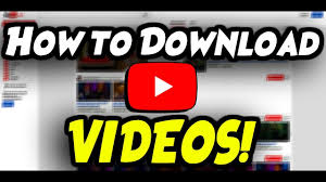 How to download YouTube Videos ...