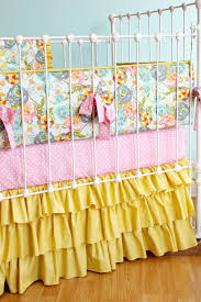 fl baby bedding mustard yellow