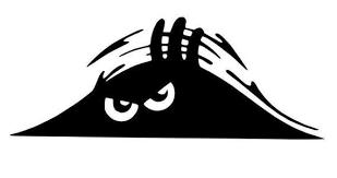 Peeping Peeking Monster Car Bumper Boot Door Vinyl Decal Etsy In 2020 Monster Car Car Stickers Funny Vinyl Decals