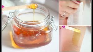 diy wax hair removal sugaring wax