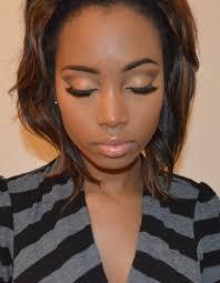 natural makeup tutorial for dark skin