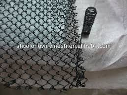 black fireplace replacement screen mesh