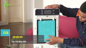 MÁY LỌC KHÔNG KHÍ - Hướng dẫn vệ sinh máy khử mùi thuốc lá và lọc không khí  VTL03 - YouTube