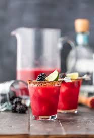 these y blackberry margaritas for a