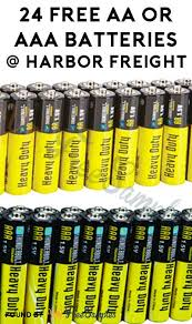 aaa batteries at harbor freight coupon