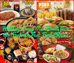 holiday group meal deals from our