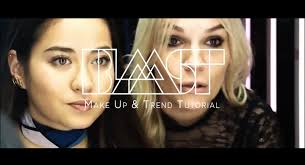 blaast x mac cosmetics easy make up