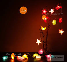 Multi String Lights Space Star Moon Fairy Lights Bedroom Home Etsy