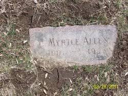 Elsie Myrtle Allen (1900-1923) - Find A Grave Memorial