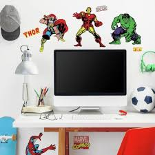 Classic Marvel Wall Stickers Peel And Stick Marvel Classics Wall Decals