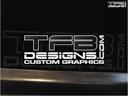 Tfb Designs Carbon Fiber Vinyl Decal 6 Wide High Quality Tfb Designs