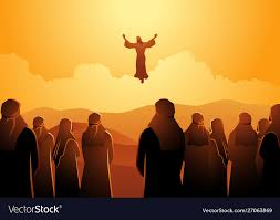 The ascension jesus Royalty Free Vector Image - VectorStock