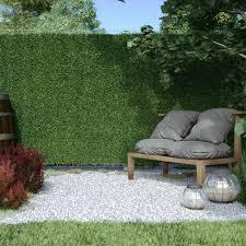 Artificial Ivy Grass Hedge Screening Screen Fence Garden And Terrace Domondo