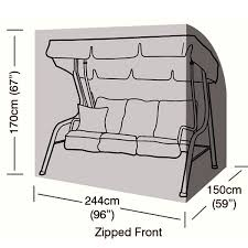 4 seater swing seat cover 244cm