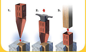 How Do I Remove A 4x4 Fence Post That Is Snapped Off At Ground Level Home Improvement Stack Exchange