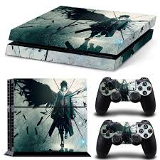 Naruto Uchiha Sasuke For Ps4 Skin Decal Skin Stickers For Playstation 4 Ps4 Console 2 Pcs For Ps4 Controller Ps4 Skin Controle Buy At The Price Of 7 69 In Aliexpress Com Imall Com