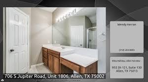 Virtual tour for 706 S Jupiter Road, Unit 1806, Allen, TX 75002 | $252,000  | 1425 Sq.ft | 3 Bedrooms