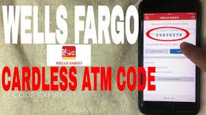 withdraw money at wells fargo atm