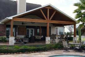 gable roof patio cover in remington