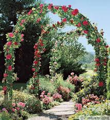 garden decorations arches